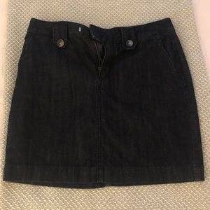 Banana Republic denim skirt
